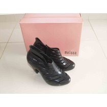 Raridade! Melissa Believing Preto 33/34 Novos