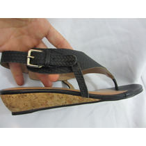 Sandalia Gladiadora Feminina Rasteira Via Uno 36 Preto