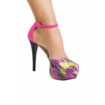 Sapato Feminino Meia Pata Salto Alto