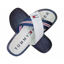 Chinelo Tommy Hilfiger Branco Sola Azul