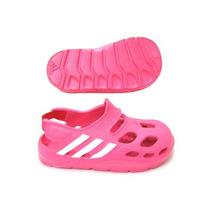 Sandália Papete Adidas Varisol Infantil Modelo Crocs Rosa