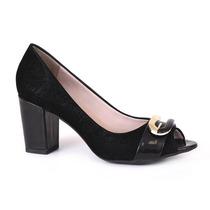 Sapato Lilha Social Com Fivela - 32105 Gabriella Cal?ados