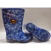 Bota Galocha Camuflada Superman - Alpargatas Viva La Lívia
