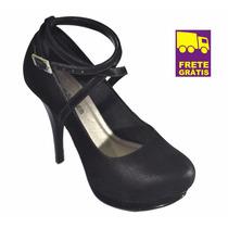 Scarpin, Sapato Super Confortável Up Shoes Ref: 1190! Lindo!