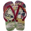 Havaianas Disney Stylish Bege / Vermelho Mickey Minnie