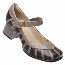 Sapato Boneca Estilo Retro Nr.33 (palmilha Sistema Comfort)