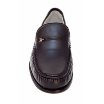 Sapato Masculino Dockside Solado Em Couro