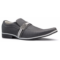 Sapato Social Masculino Sapatenis Casual Barato Fivela