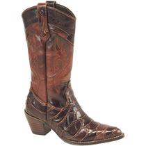 Bota Country Infantil Texana Lady Silver Escamada Mustang Ca