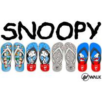 Chinelos Snoopy - Charlie Brown - Lila - Desenho