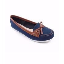 Moleca Mocassim Vintage Nº 36 E 37/ 5303.100 Jeans Azul