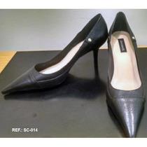 Scarpin Preto Liso Shoestock