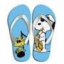 Chinelo Personalizado Snoopy Charlie Brown Desenhos E Hq
