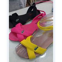 Sandálias Feminina Gladiadora Lacoste Kit Com 12 Atacado