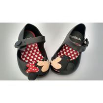 Sapatilha,sandalia Melissa Minnie Infantil Promoção