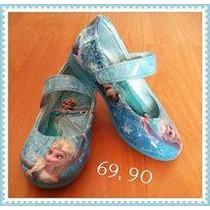 Sapato Frozen Sapatilha Anna Elsa Infantil Criança