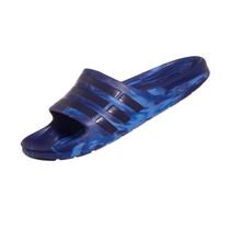 Chinelo Adidas Duramo Slide Marbled Azul