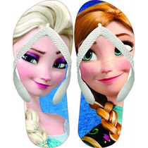 Chinelo Personalizado Infantil Frozen