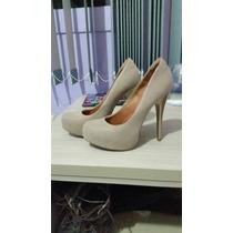 Sapato Meia-pata Nude .shoes