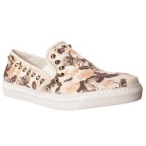 Stokton Rosetta Deslizamento-na Moda Sneakers