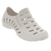 Sapatênis Sapato Feminino Super Leve Elástico Branco Preto