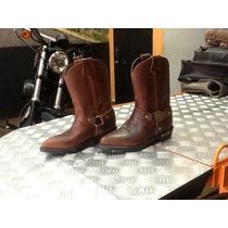 Bota Harley Davidson Original Importada Feminina Tamanho 34