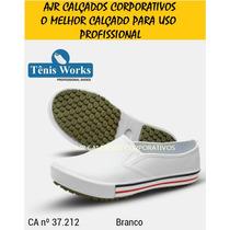 Sapato Profissional Segurança Sapatênis Soft Works Crocks Ca
