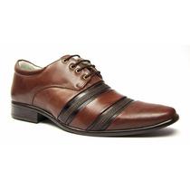 Sapato Masculino Com Cadarço Marron
