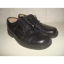 Sapato De Couro Marca C N S Modelo Memory Flex Gel - Nº 41