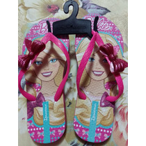 Chinelo Ipanema Original Barbie Com Laço N°31/32