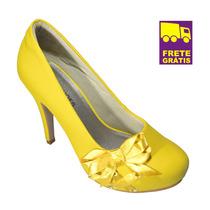 Scarpin Up Shoes Super Confortável Para Noivas!! Lindo!!