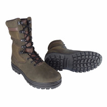 Bota Coturno Eletricista, Couro, Atron Shoes Marrom