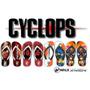 Chinelos Cyclops - Ciclops - X Men - Xmen