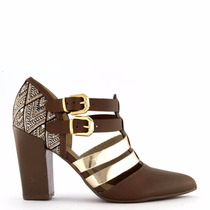 Ankle Boot Piccadilly Castanho 722008 Maravilhoso!!!