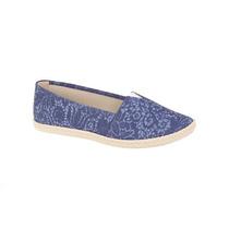 Sapatilha Feminina Alpargata Moleca - Azul Jeans