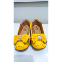 Sapatilha Carolla Fashion Amarela