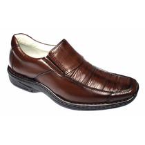 Sapato Confortável Cor Pinhão Palmilha Gel Franca Shoes