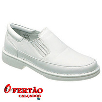 Sapatos Franca Alcalay Linha Relax Couro Legítimo 709