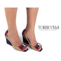 Sapato Peep Toe Torricella Feminino