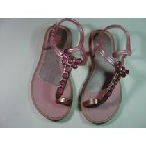 Sandália Infantil Barbie Rosa Greendene Criança