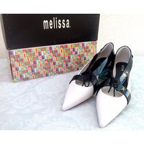 Melissa Tailoring Preto E Branca Nº 36 Oxford Melissa Nation
