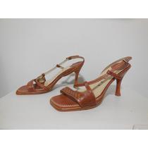 Sandália Feminina Baeta Tam 34 Marrom - Calçados Roupas