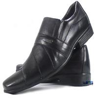 Sapato Social Masculino Barato Promocao Combina Terno Slin
