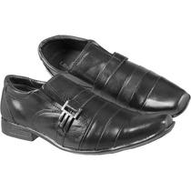 Sapato Social Masculino Em Couro Legítimo Cor: Preto