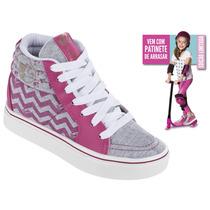 Tênis Barbie Fever Com Patinete Brinde 21316 Ed. Limitada