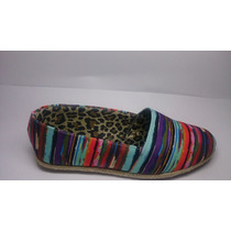 Alpargata Feminina Color Detalhe Em Corda (luiza Calçados)