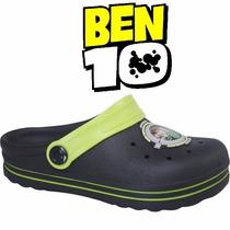 Sandália Ben 10 Infantil Menino (babuche, Crocs) 20818