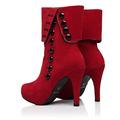Bota Plataforma Sapato Salto Alto Importada