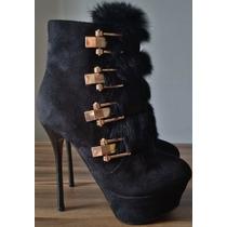 Sapato Feminino Importado Ankle Boots