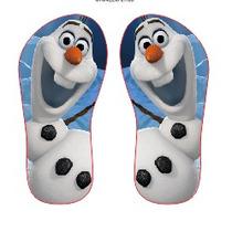 Chinelo Personalizados Infantil Olaf Frozen